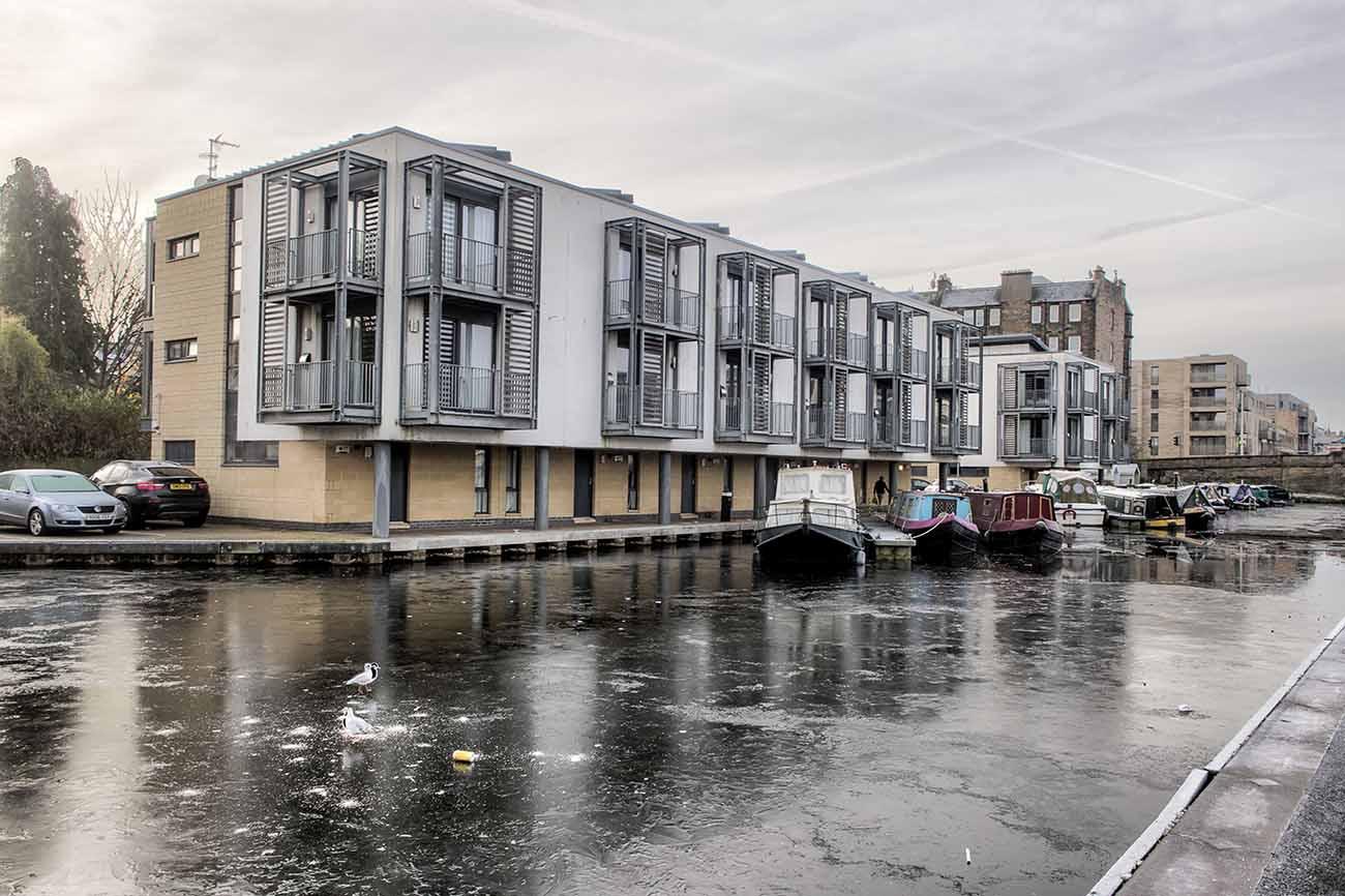 union canal edinburgh airbnb