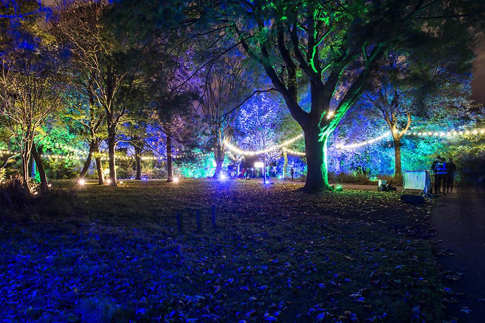 Botanic Lights At The Royal Botanic Gardens Edinburgh
