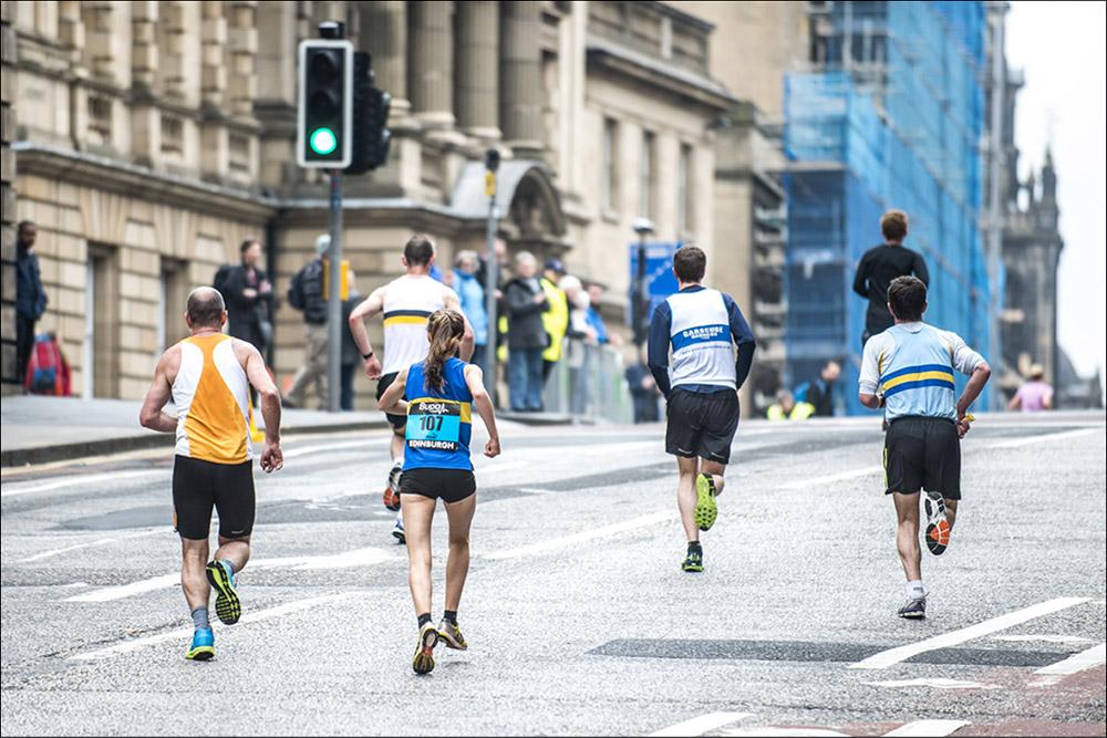 Bupa Great Edinburgh Run 2014