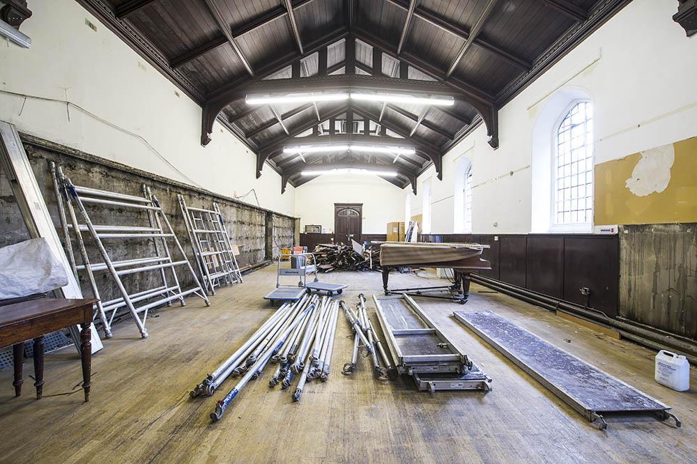 cornerstone centre main hall
