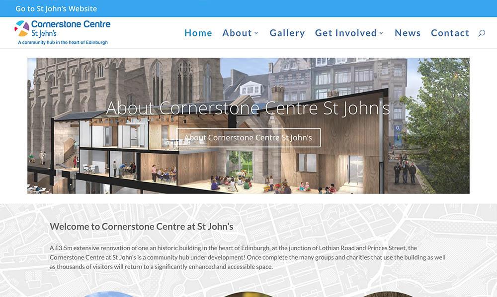 cornerstone centre website