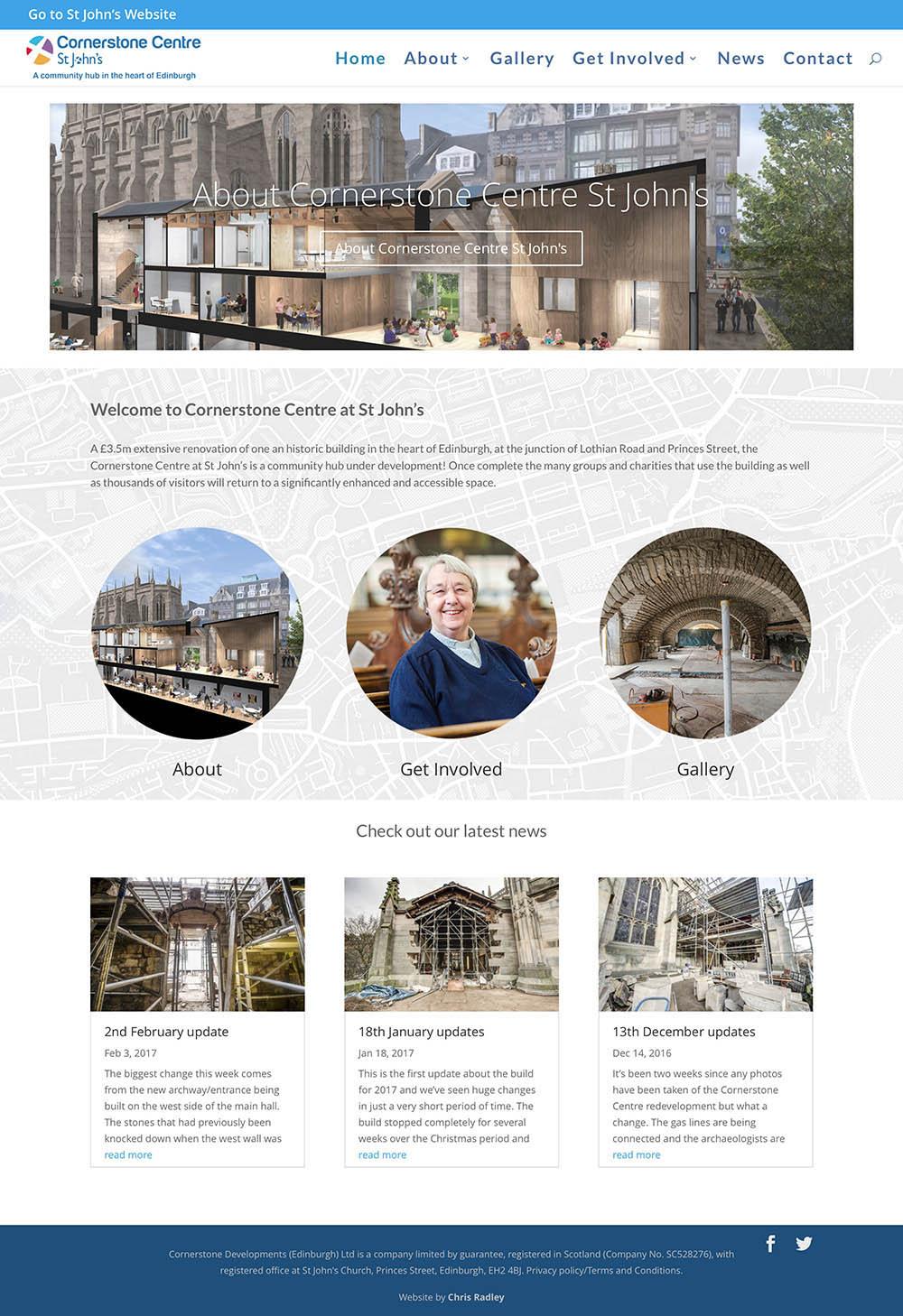 cornerstone centre full page