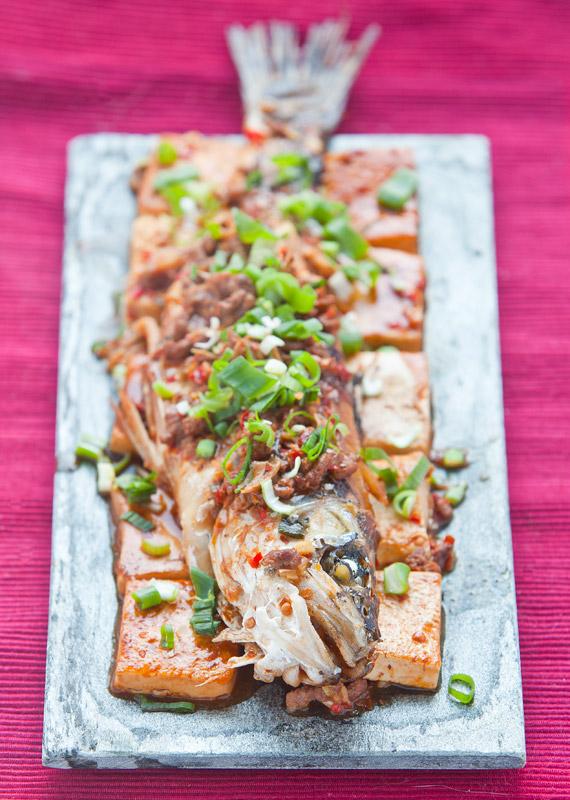 chili bean paste tofu and fish