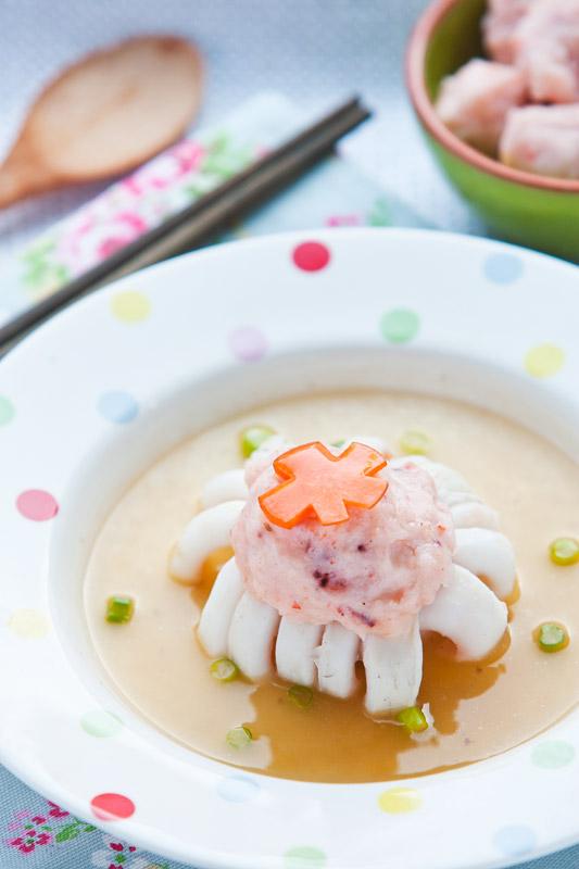 flower blossum squid