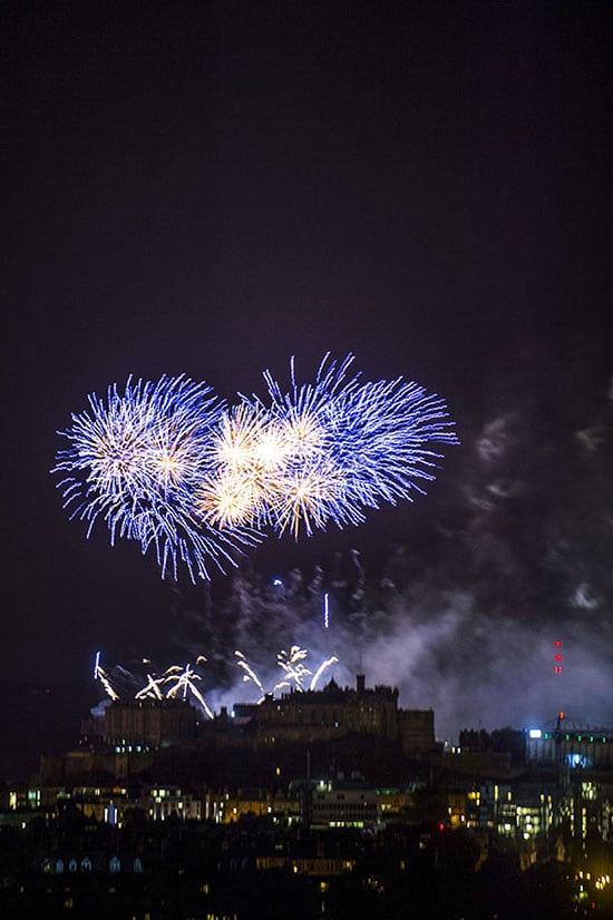 Virgin Money Fringe Fireworks 2016