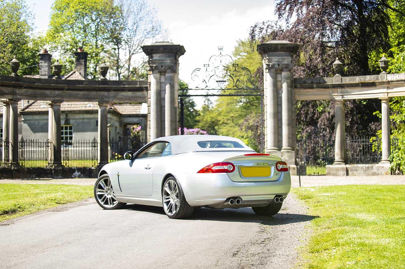 jaguar xkr car photography