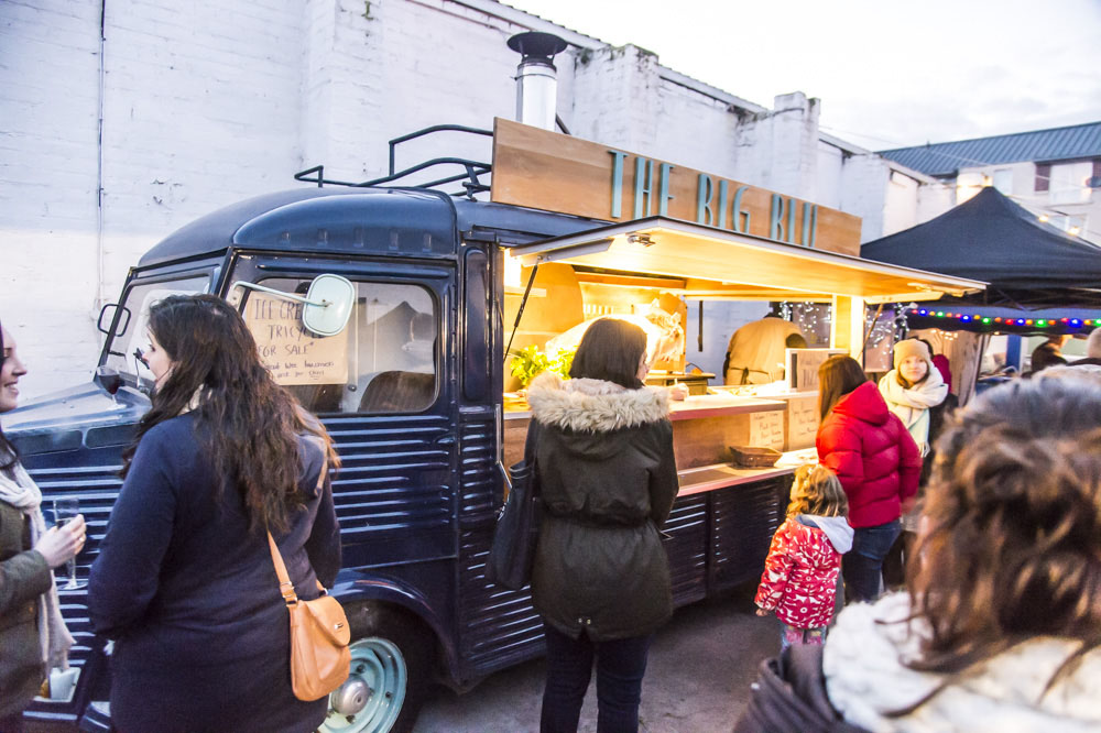 The Pitt Street Food Market Edinburgh