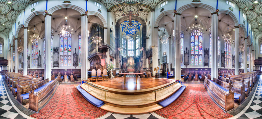 st johns church edinburgh panoramic