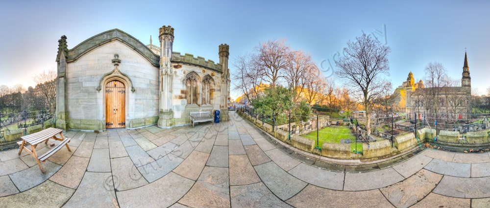 st johns church edinburgh graveyard