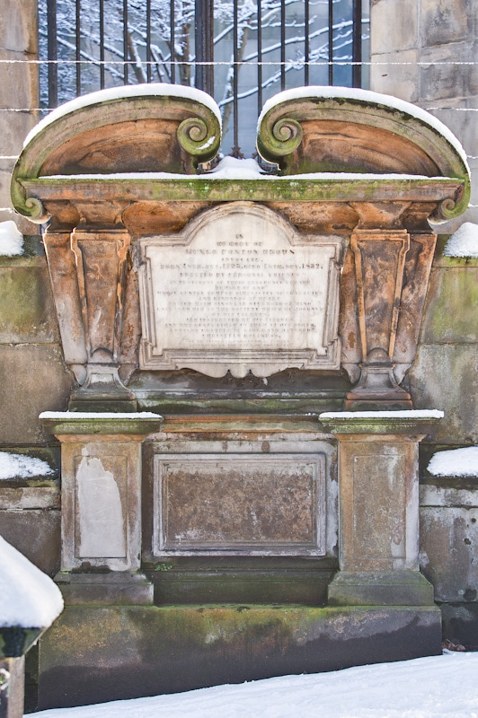 st johns church edinburgh headstones