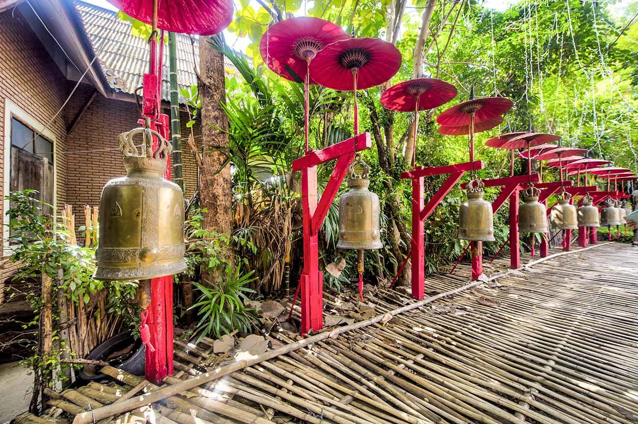 wat phan tao temple chiang mai