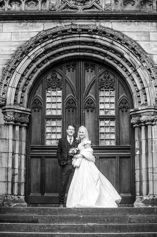 Lothian Chambers Winter Wedding