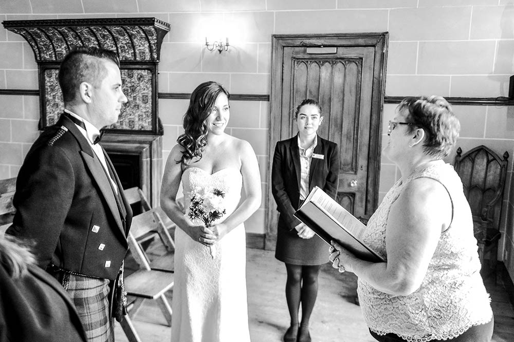 Dalhousie Castle Scotland Wedding