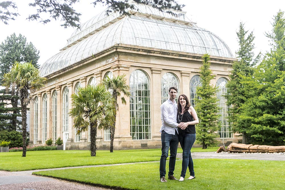 Merveilleux Royal Botanical Gardens Edinburgh Engagement