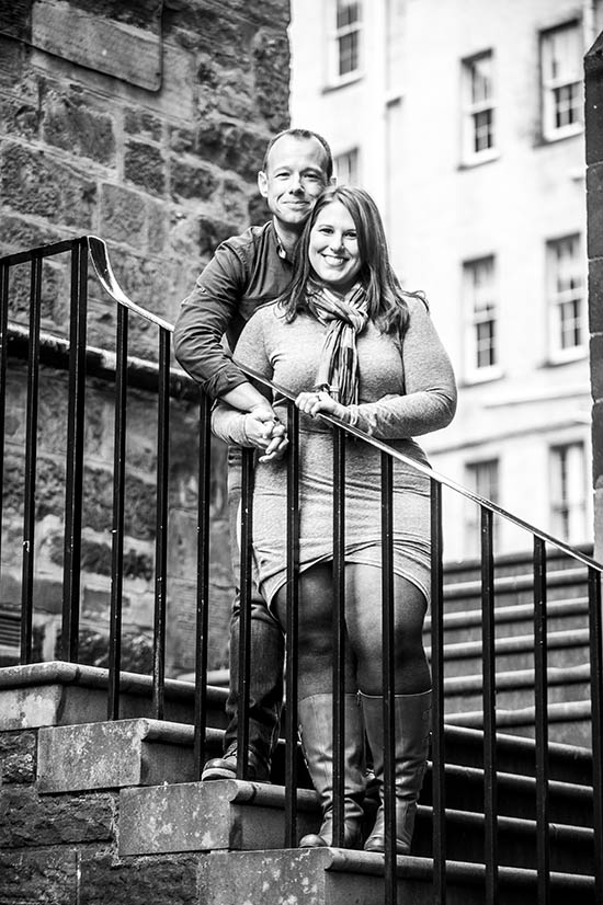 American Wedding in Edinburgh