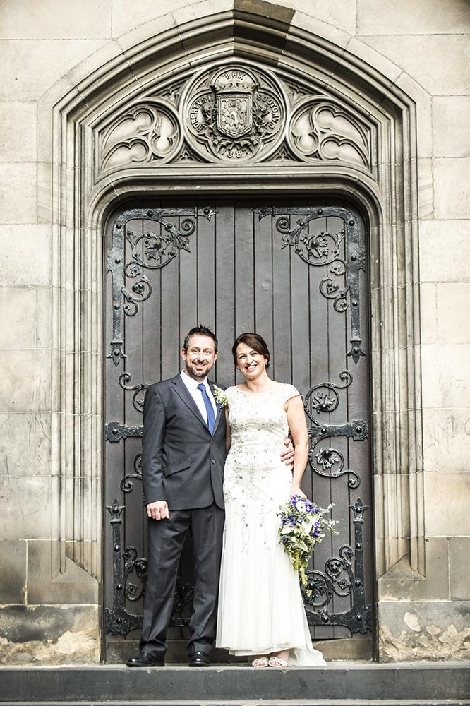 Wedding at Lothian Chambers Registry Office