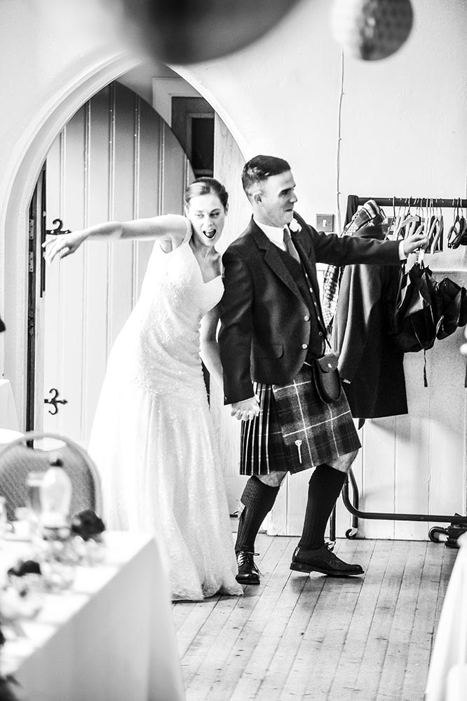 St Columba's Free Church of Scotland Wedding