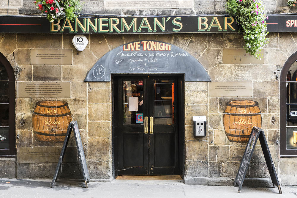 bannermans bar thunderfuck