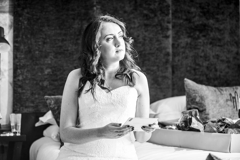 Malmaison Edinburgh Wedding