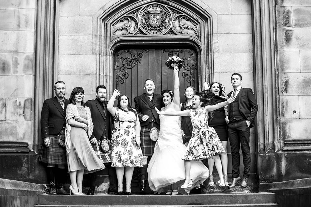 wedding photographer edinburgh