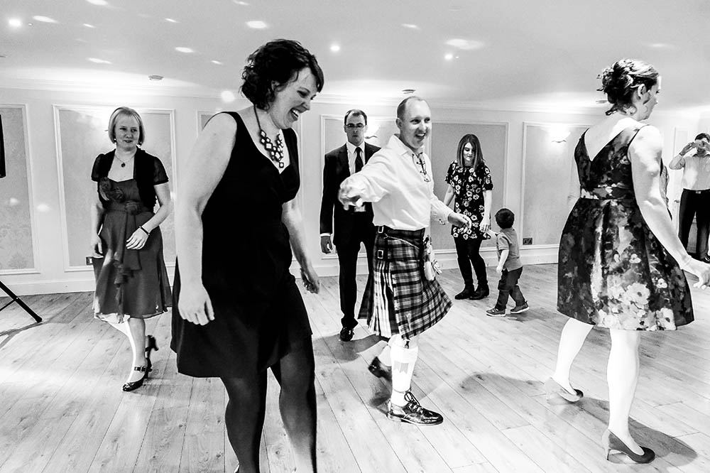 carberry tower wedding ceilidh