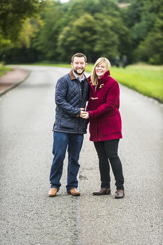 holyrood park engagement shoot
