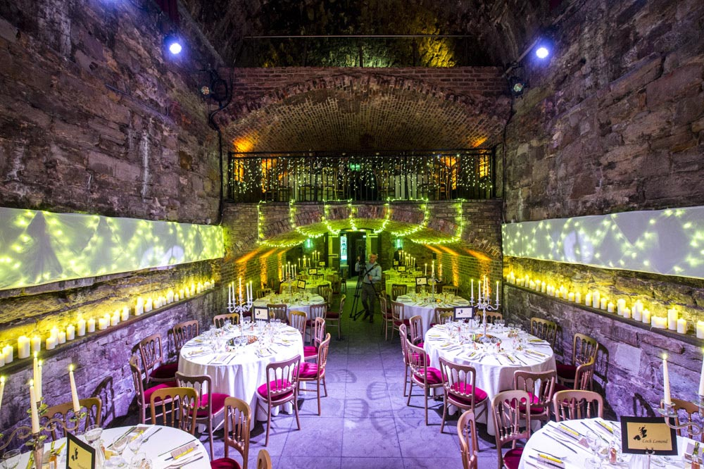 the caves edinburgh wedding