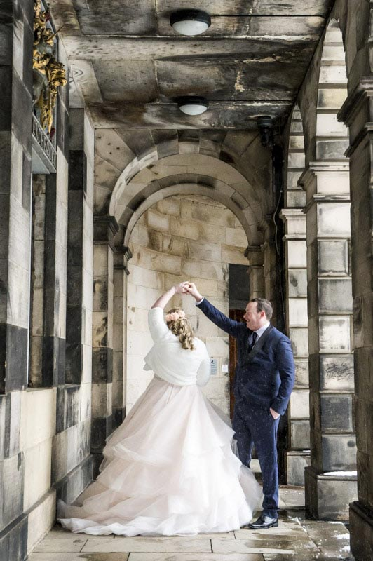 old town edinburgh wedding