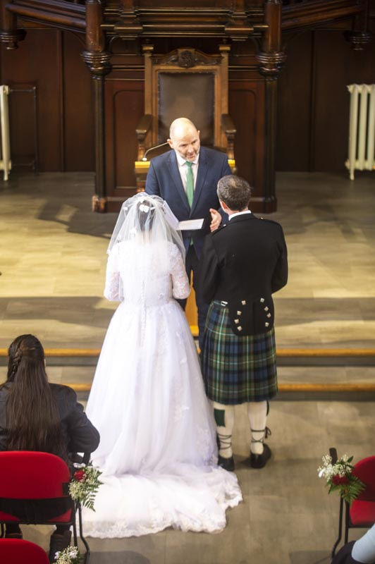 st columbas free church wedding