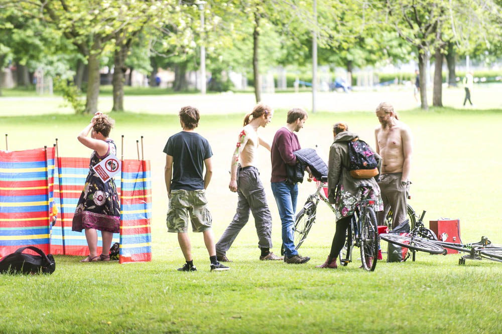 naked bike ride edinburgh 2017