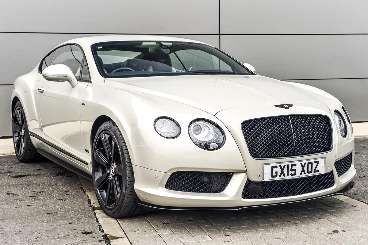 bentley continental GT S