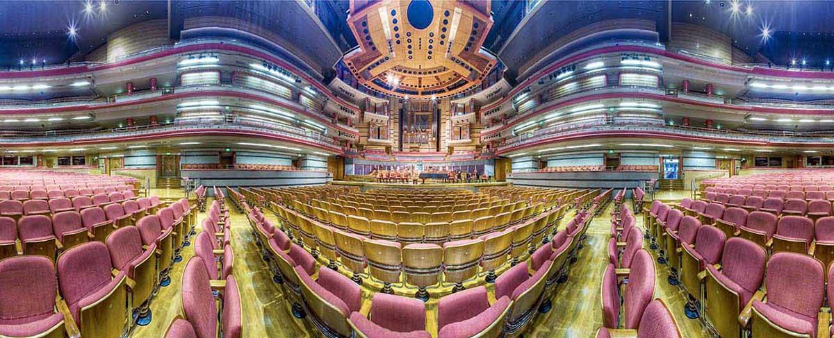 symphony hall birmingham panorama
