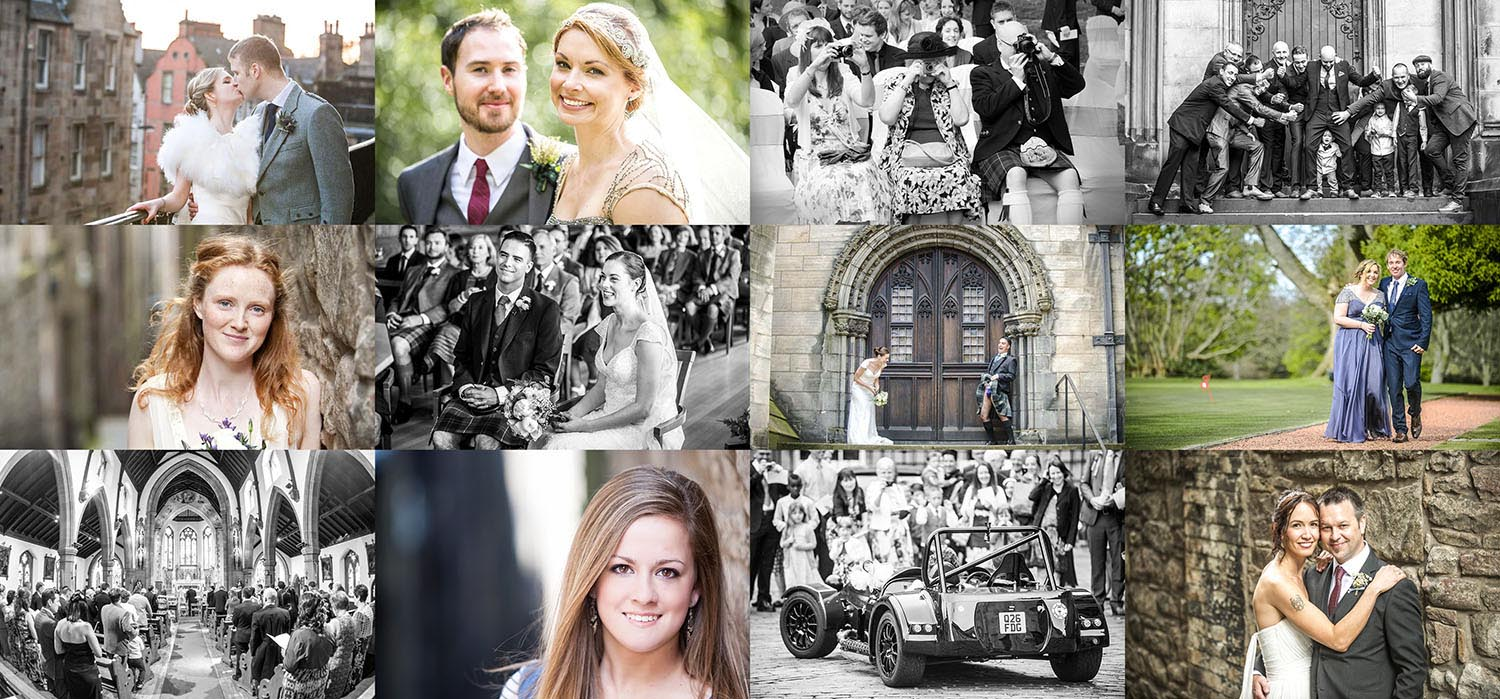 wedding photography edinburgh prices