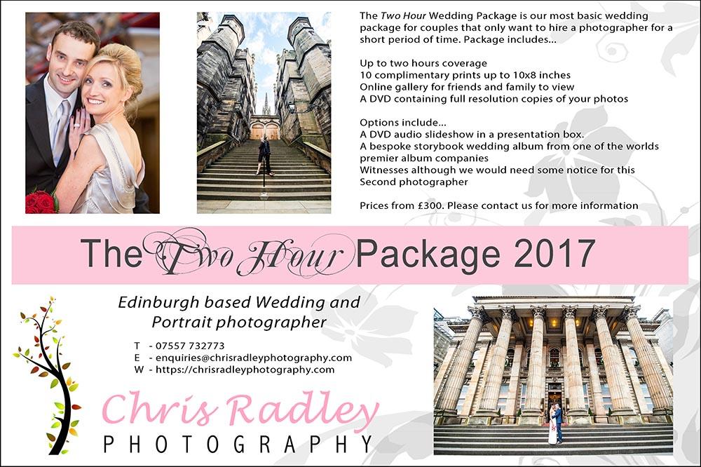 Wedding photographer edinburgh prices chris radley for Wedding photography rates per hour