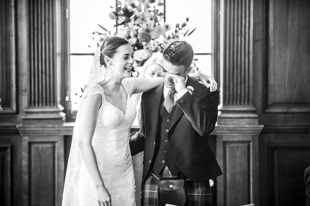 City of Edinburgh Suite Lothian Chambers Wedding