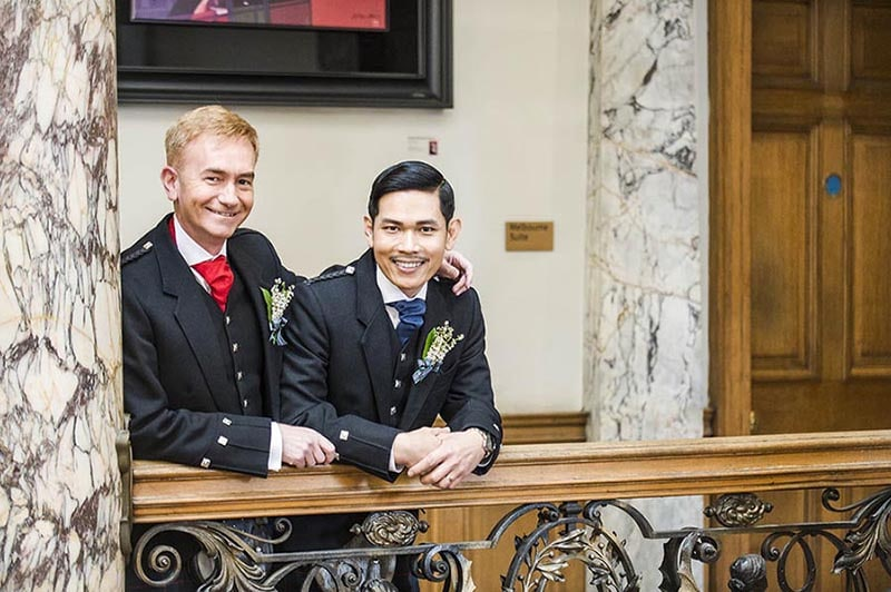 Lothian Chambers Gay Wedding