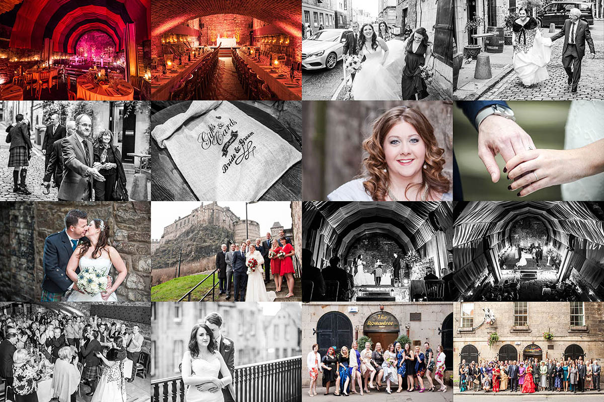 rowantree caves wedding montage