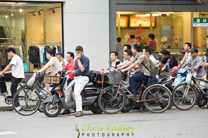 shanghai bicycle traffic