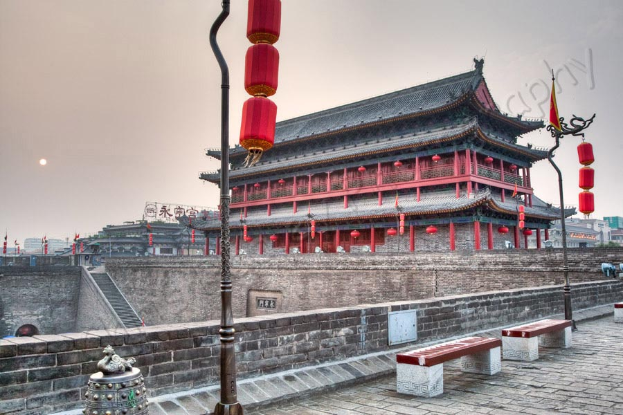Xi'an City Wall and Drum Tower