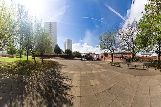 Birmingham Canal day Panoramics