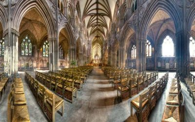Lichfield Cathedral Panoramic