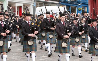 Stockbridge Pipe Band