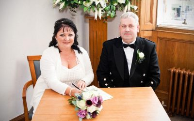 Lothian Chambers and Victoria Park Hotel Wedding
