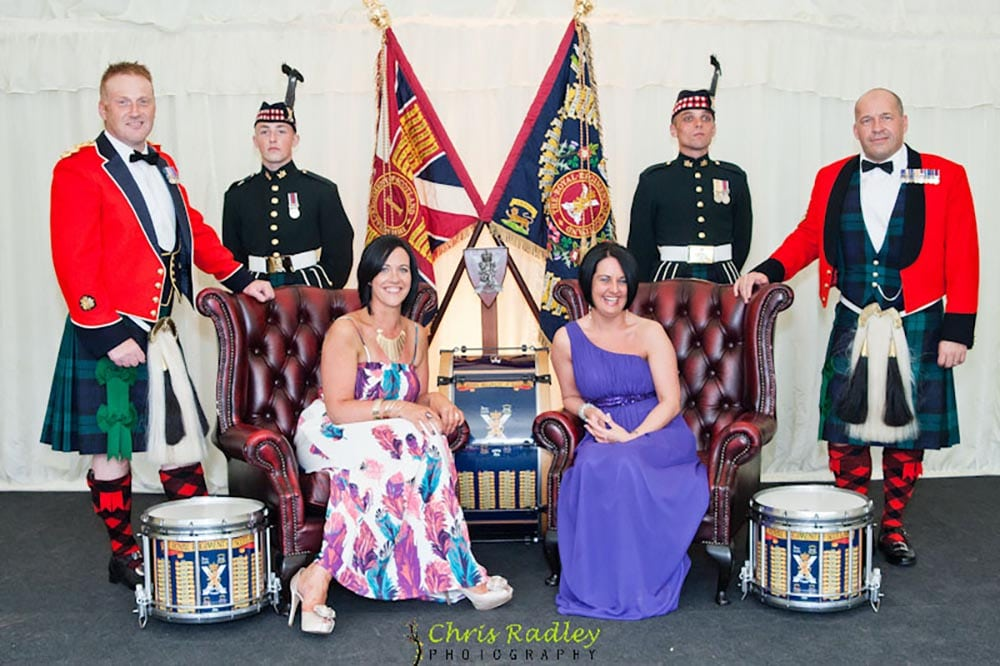 Sargeants Ball for Royal Regiment of Scotland