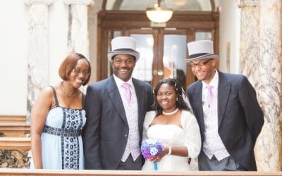 Edinburgh Old Town Wedding – Mofope and Olusegun