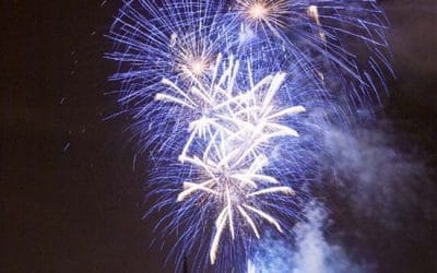 Bank of Scotland Fireworks Display Edinburgh 2011