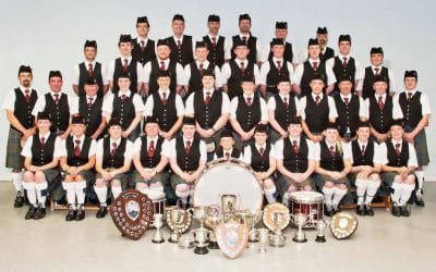 Stockbridge Pipe Band Group Photo