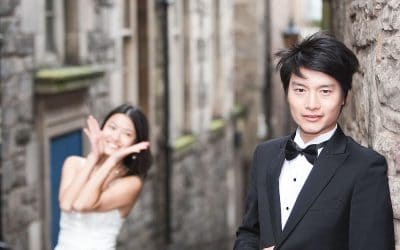 Chinese Wedding Edinburgh – Mabel and Miu
