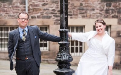American Wedding in Edinburgh – Ashley and David