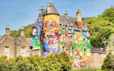 Kelburn Castle Graffiti Castle